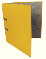Q-Connect Lever Arch File A4 Paper-Backed Yellow