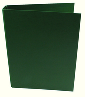 Q-Connect 2-Ring Binder A4 25mm Polypropylene Green