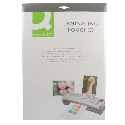 Q-Connect A3 Laminating Pouch 250mic P25