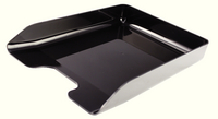 Q-Connect Executive Letter Tray Black CP125KFBLK