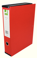 Q-Connect Box File Foolscap Red (Pk 5) KF20016