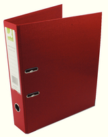 Q-Connect Lever Arch File Foolscap Polypropylene Red