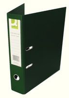 Q-Connect Lever Arch File Foolscap Polypropylene Green