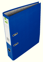 Q-Connect Lever Arch File Foolscap Paper-Backed Blue KF20030