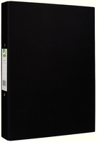 Q-Connect 2-Ring Binder A4 25mm Paper-Backed Black KF20034