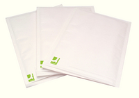 Q-Connect White Size 4 Bubble-Lined Envelopes (Pack of 100) KF71449