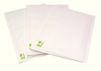 Q-Connect Bubble-Lined Envelope Size 5 White Pk 100 KF71450