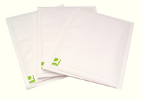 Q-Connect Bubble-Lined Envelope Size 10 White Pk 50 KF71453