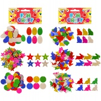 Henbrandt Fun Craft Kit Sequins- Shapes or Animals