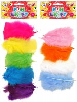 Henbrandt Fun Craft Kit Feathers - Bright or Light