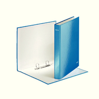 Leitz Wow A4+ 2D-Ring Binder 25mm Blue 42410036