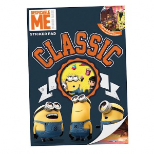 Despicable Me Minions Sticker Pad