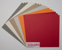 12x12 inch Light Colors No.2 Heavyweight 270gsm Cardstock Bundle 18 sheets