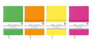 A5 Neon Collection Notebook (Choose from Yellow, Pink, Green or Orange)