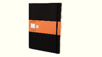 Moleskine Classic Notebook Ruled Extra Large Soft Black QP621