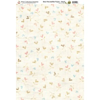 Nitwit Collections Bear Necessities Hearts Paper A4 10 Sheets