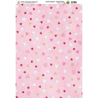 Nitwit Collection Joyful Hearts Pink Paper A4 10 Sheets