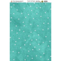 Nitwit Collection Noah's Ark Teal Star Paper A4 10 Sheets