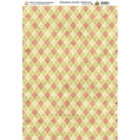 Nitwit Collection - Strawberry Social Diamond Paper A4 10 Sheets