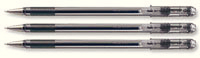 Pentel Superb Fine Ball Point Pen Black (Pk 12) Black77-A