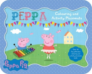 Peppa Pig Colouring & Activity Placemats