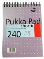 Pukka Shortie Metallic A5 Writing Pad 80g