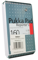 Pukka Reporters Shorthand Notebook 160pp