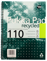 Pukka Quality Recycled A4 Pad 80g 100pp