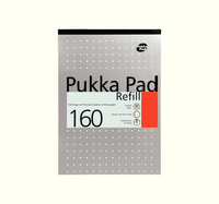 Pukka Refill Pad 80Sht Feint and Margin Punched White
