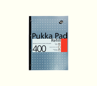 Pukka Pad Blue A4 400 Page Refill Pad  REF400
