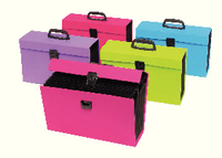 Rexel Joy Expanding Box File Pink RX23441