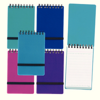 Snopake Note guard Head Bound Notebook A6 Pk 5 Assorted 150 Pages Ruled Feint 14324