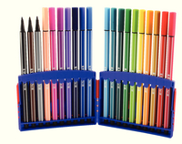 Stabilo Assorted Pen 68 ColorParade Fibre Tip Pens Pack of 20 6820-03