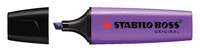 Stabilo Boss Highlighter Pen Lavender 70/55/10