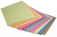 Pack of 100 A4 Bright Assorted Sugar Paper
