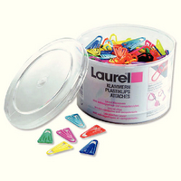 Laurel Plastic Paperclip 60mm (Pk 75) 126131399
