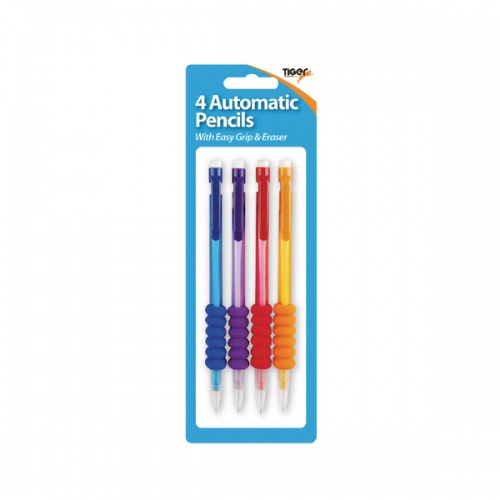 4 X Mechanical Pencils Hb, Assorted (Pack of 12)