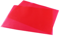 Cut Flush Folder Red A4 Pk 100 WX01485
