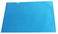 Cut Flush Folder Blue A4 Pk 100 WX01486