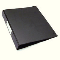 Whitebox Ring Binder A4 Black (Buy Individually or as a pack of 10) WX02005