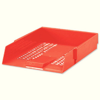 Plastic Letter Tray Red WX10055A