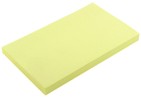 Yellow Note Repositionable Pad 75x125mm WX10503 (Pack of 12)