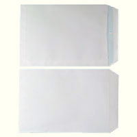 Envelope Plain C4 90gsm White Self-Seal Pk 250 WX3499