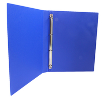Presentation 4O-Ring Binder Blue 16mm WX47604 (Pack 10)