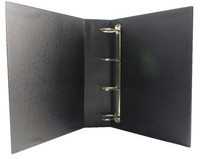Presentation 4D-Ring Binder 50mm Black WX47660  (Pk 10)