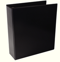 Presentation 4D-Ring Binder 65mm Black WX70297 (Pk 10)