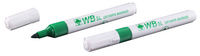 Whiteboard Marker Bullet Tip Green WX98004 (Pack of 10)