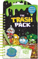 Trash Pack Mini Art Sketch Book Set