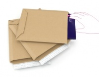 Book Wraps Wraparound Despatch Packaging (245 x 165 x -70mm). Pk of 35