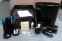 Stationery Ecomony Essentials Hamper / Bundle - Black